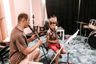 FabLab Pobite Gary, warsztaty muzyczne, nauka gry na flecie