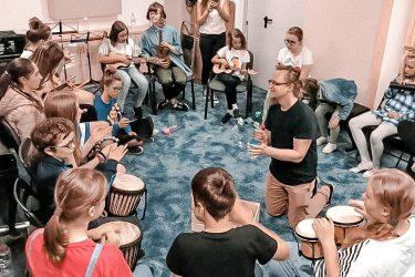 FabLab Pobite Gary, grupowe warsztaty muzyczne