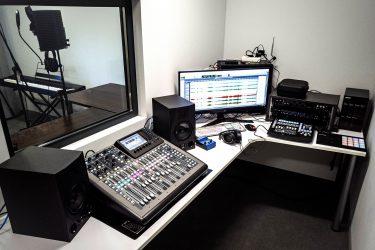 studio nagraniowe konsola